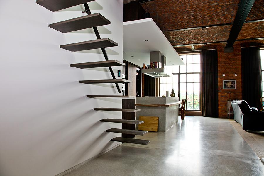 Loft in gent opdrachten in beeld paardekooper design for Fvb interieur designs bv
