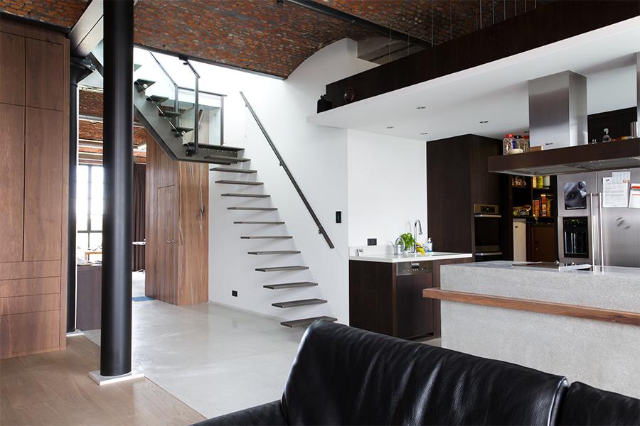 Loft in gent opdrachten in beeld paardekooper design interieur