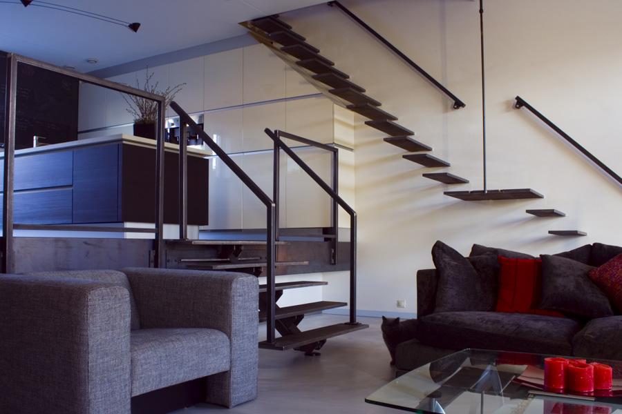 Design trappen maatwerk paardekooper design interieur