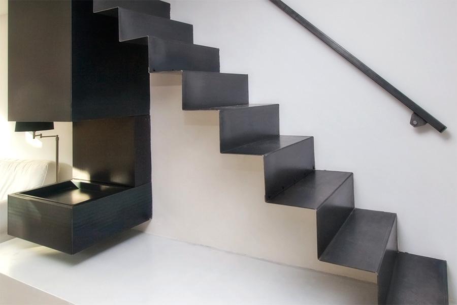 Design trappen maatwerk paardekooper design interieur - Moderne designtrappen ...